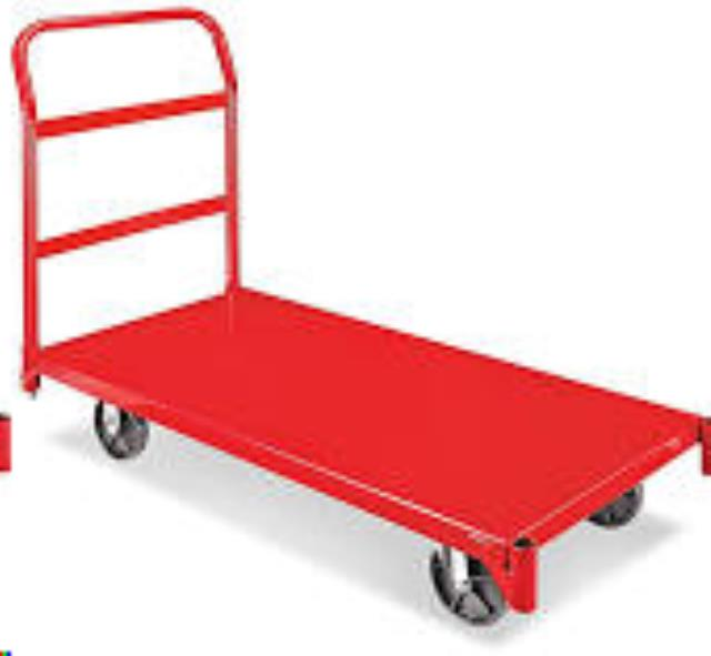 Where to find Warehouse Dolly  Red 4 Wheel in Omaha