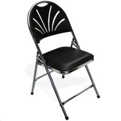 Rental store for Chair, Black Padded Folding in Omaha NE