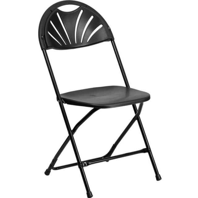 Chair All Black Folding Rentals Omaha Ne Where To Rent