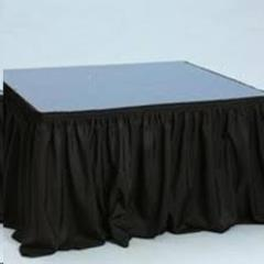Rental store for Stage Skirting, 2   Black Per Foot in Omaha NE