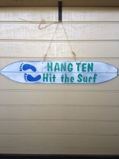Rental store for Sign- Hang Ten  Hit The Surf Beach in Omaha NE