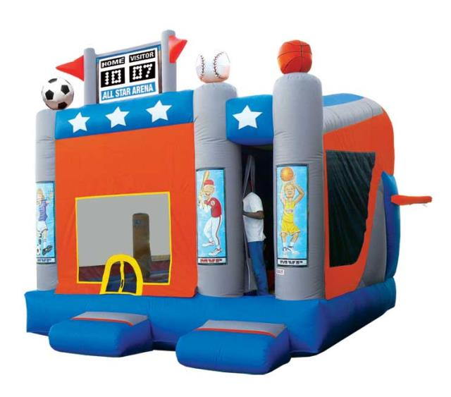 Inflatable Water Slide Rental Omaha: SPACE WALK 5 IN 1 SPORTS ARENA Rentals Omaha NE, Where To
