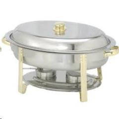 Rental store for Chafer Gold Trim 6 Qt Oval in Omaha NE