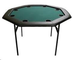Rental store for Poker Table  Black Padded in Omaha NE