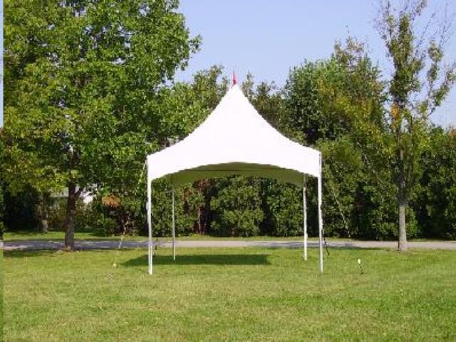 Tent High Peak 10 Foot X10 Foot Installed Rentals Omaha Ne