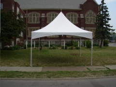 Rental store for Tent High Peak 10 x10  Installed in Omaha NE