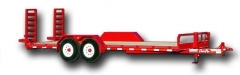 Rental store for Trailer 16  Flatbed Red in Omaha NE